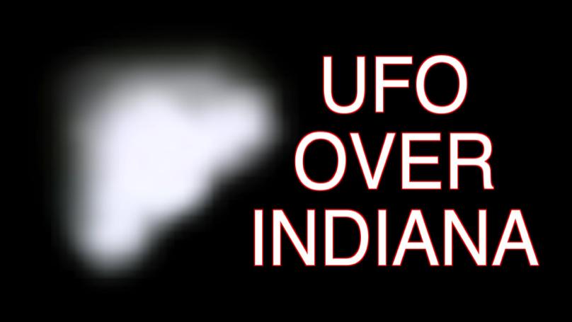 UFO Over Indiana